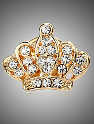 cheap -Women's Rhinestone Brooch Jewelry Golden For Party Daily