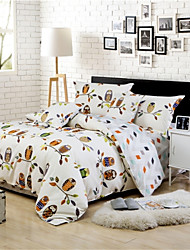 cheap -4PC Fashion Well Designed Polyester Duvet Cover Set,Queen Size