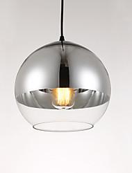 cheap -1-Light 20CM Designers Pendant Light Glass Glass Globe Electroplated Modern Contemporary 110-120V / 220-240V