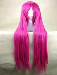 cheap -top quality pink cosplay wig woman s wigs super long straight animated synthetic hair wigs party wigs Halloween