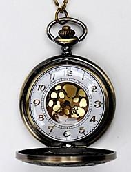 Недорогие -Муж. Карманные часы Кварцевый Старинный Классический Желтый С гравировкой Аналоговый Кулоны