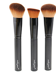 cheap -Professional Makeup Brushes Makeup Brush Set 3 Travel Blending Premium flawless Buffing Stippling Concealer Synthetic Hair / Artificial Fibre Brush for Cream Liquid Powders Makeup Brush Set