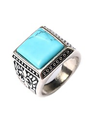 cheap -Ring Turquoise Black Blue Turquoise Statement Fashion / Women's