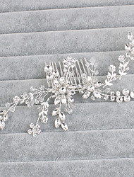 cheap -Crystal Hair Combs with 1 Wedding / Special Occasion / Casual Headpiece