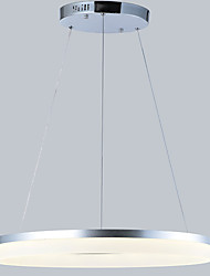 cheap -80 cm LED Pendant Light Metal Acrylic Circle Others Modern Contemporary 110-120V / 220-240V