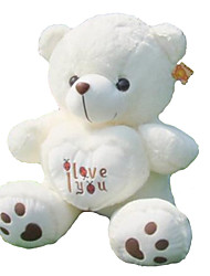 cheap -(35.4 inch)Pretty I LOVE YOU Heart Bear Plush Filling PP Cotton Gift