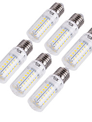 cheap -6pcs 15 W LED Corn Lights 1350 lm E14 E26 / E27 T 56 LED Beads SMD 5730 Decorative Warm White Cold White 220-240 V 110-130 V / 6 pcs / RoHS
