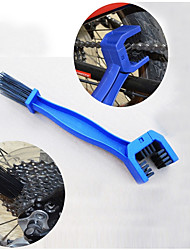 cheap -Bike Chain Cleaner Brush Gear Grunge brush Scrubber Tool Portable For Mountain Bike / MTB Road Bike Cycling / Bike BMX Fixed Gear Bike Cycling Bicycle Plastic Red Blue 1 pcs
