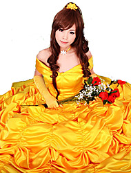 cheap -Princess Fairytale Cosplay Costume Party Costume Women's Halloween Carnival Festival / Holiday Satin Female Carnival Costumes Solid Colored