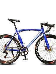 cheap -Road Bike Cycling 14 Speed 26 Inch / 700CC SHIMANO TX30 Double Disc Brake Ordinary Monocoque Ordinary / Standard Aluminium Alloy / Steel / #