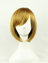 cheap -Synthetic Wig Straight Style Wig Chestnut Brown Synthetic Hair Women's Brown Wig Short
