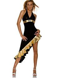 Недорогие -униформы Косплэй Kостюмы Секси униформа Фестиваль / праздник Полиэстер Карнавальные костюмы Пэчворк