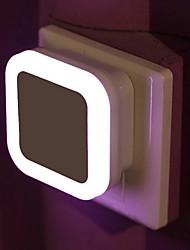 cheap -Wireless Sensor LED Night Light EU Plug Mini Square Night Lights For Baby Room Bedroom Corridor Lamp