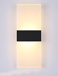 cheap -Modern / Contemporary Wall Lamps & Sconces Metal Wall Light 110-120V / 220-240V 6W / LED Integrated
