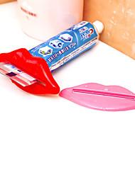 cheap -Toothpaste Dispenser Multi-Purpose Squeezer Toothpaste Partner Random Color