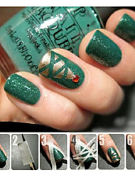 cheap -The Pattern Of Nail Polish Tools To Do Creative Manicure Tape Stickers Masking Tape