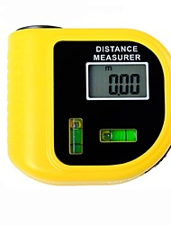 cheap -Electronic Laser Distance Meter Tester with LCD Digital Screen  (Range: 2~60ft,+/-5%)