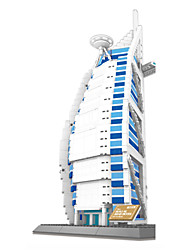 cheap -WANTOY Building Blocks Military Blocks 1 pcs Ship Burj Al Arab Soldier Boys' Girls' Toy Gift