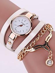 cheap -Women's Wrist Watch Quartz Leather Black / White / Blue Casual Watch Analog Ladies Bohemian Fashion - Green Blue Camel
