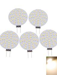 cheap -SENCART 5pcs 3 W LED Spotlight 400-480 lm G4 MR11 36 LED Beads SMD 3014 Decorative Warm White Cold White 12 V / 5 pcs / RoHS