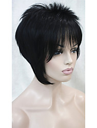 cheap -Synthetic Wig Straight Style Capless Wig 12-26 30F27 6F27 Synthetic Hair Women's Wig Short StrongBeauty