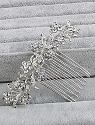 cheap -Rhinestone Hair Combs with 1 Wedding / Special Occasion / Casual Headpiece