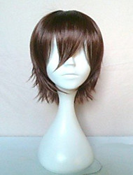 cheap -Cosplay Costume Wig Synthetic Wig Straight Straight Wig Short Brown Synthetic Hair Women's Brown hairjoy