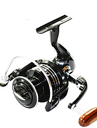 cheap -Fishing Reel Spinning Reel 5.5:1 Gear Ratio+13 Ball Bearings Right-handed / Left-handed / Hand Orientation Exchangable Sea Fishing / Bait Casting / Ice Fishing - BSLGH3000 / Jigging Fishing