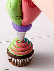 Недорогие -1шт Нержавеющая сталь Торты Печенье Пироги Инструмент для отделки Инструменты для выпечки