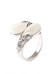 cheap -Women's Statement Ring - Silver Plated Fashion One Size Screen Color For Party
