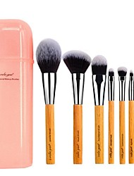 cheap -Professional Makeup Brushes Makeup Brush Set 8pcs Portable Travel Eco-friendly Professional Full Coverage Synthetic Hypoallergenic Limits Bacteria Synthetic Hair / Artificial Fibre Brush Wood for