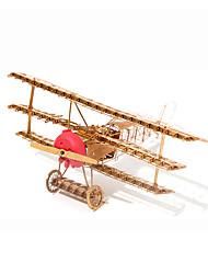 cheap -Jigsaw Puzzles 3D Puzzles / Metal Puzzles Building Blocks DIY Toys Aircraft Metal Gold Model & Building Toy