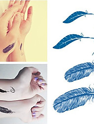 cheap -feather-tattoos-stickers-trendy-waterproof-small-temporary-tattoos-stickers-for-body-art-sleeve-arm
