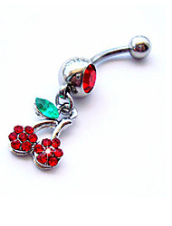 cheap -Women's Body Jewelry Navel Ring / Belly Piercing Crystal Rainbow Luxury / Unique Design / Fashion Crystal / Imitation Diamond Costume Jewelry For Daily / Casual Summer