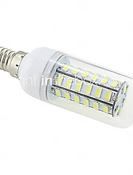 cheap -10 W LED Corn Lights 1000 lm E14 G9 B22 T 48 LED Beads SMD 5730 Warm White Cold White 220-240 V