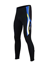 cheap -TASDAN Men's Cycling Tights Bike Tights Pants Bottoms Breathable 3D Pad Quick Dry Sports Solid Color Winter Black / Red / Black / Blue Road Bike Cycling Clothing Apparel Relaxed Fit Bike Wear