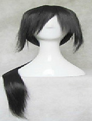 cheap -black cosplay wig super long straight synthetic hair wigs animated party wigs Halloween