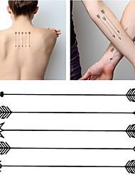 cheap -hc1071-harajuku-waterproof-fake-tattoo-man-women-brachium-tattoos-arrow-pattern-design-false-temporary-tattoo-sticker