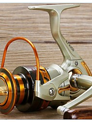 cheap -Spinning Reel 5.5:1 Gear Ratio+10 Ball Bearings Hand Orientation Exchangable Spinning - EF1000 / EF2000 / EF3000