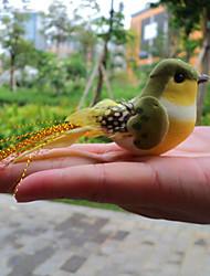 Недорогие -пернатые птицы магнит холодильника памятка дома стикера сада oranments (случайный цвет)