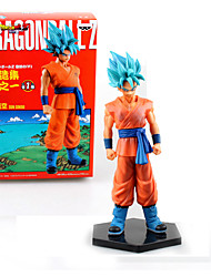 cheap -Anime Action Figures Inspired by Dragon Ball Cosplay PVC(PolyVinyl Chloride) 17 cm CM Model Toys Doll Toy