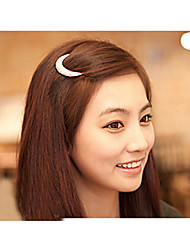 Недорогие -новейший кристалл луна горный хрусталь аксессуары для волос для женщин, заколки для волос для девочек головной убор шпилька зажимы hb144
