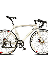 cheap -Road Bike Cycling 14 Speed 26 Inch / 700CC SHIMANO TX30 Double Disc Brake Ordinary Monocoque Ordinary / Standard Aluminium Alloy / #
