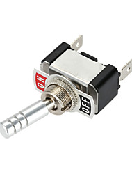 cheap -Jtron DC12V 20A ON-OFF Car Rocker Button Switch - Silver