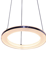 cheap -12W D30CM Modern/Contemporary LED Acrylic Pendant Lights / Dining Room / Study Room/Office