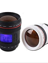 Недорогие -объектив камеры форма будильника музыка календарь повтора проекция с подсветкой новизны
