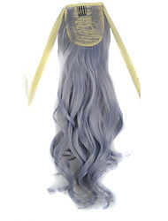 cheap -Cross Type Ponytails Synthetic Hair Hair Piece Hair Extension Wavy