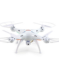 cheap -RC Drone SYMA X5SW 4CH 6 Axis 2.4G With 2.0MP HD Camera RC Quadcopter FPV / LED Lights / Headless Mode Remote Controller / Transmmitter / Camera / USB Cable / 360°Rolling / Hover / 360°Rolling