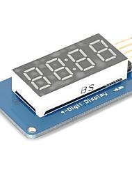 Недорогие -4 бита цифровой трубки водить модуль дисплея с часами дисплея tm1637 для Arduino Raspberry Pi