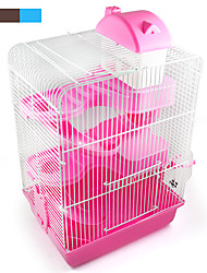 cheap -Chinchillas Plastic Cages Gray / Blue / Pink